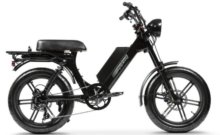 electric moped (Juiced)